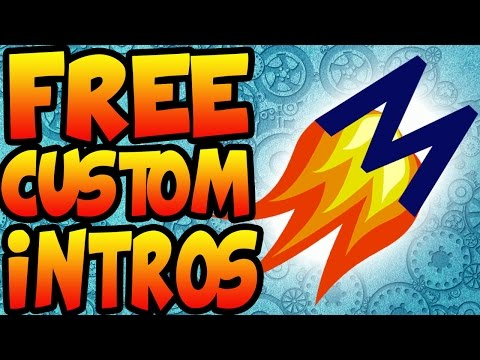 How To Make FREE Custom Intros (EASY)