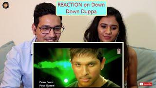 Down Down Duppa Song REACTION   Race Gurram Songs   Allu Arjun   Shruti Haasan