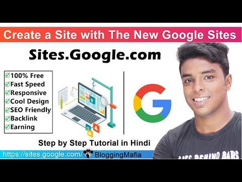 Sites.Google.com | How To Create A Site With The New Google Sites For FREE