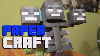 Papercraft: Wither Boss