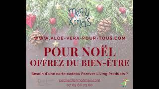 Noël Forever 2020 | Offrez du bien-être | Chèques Cadeaux | www.aloe-vera-pour-tous.com