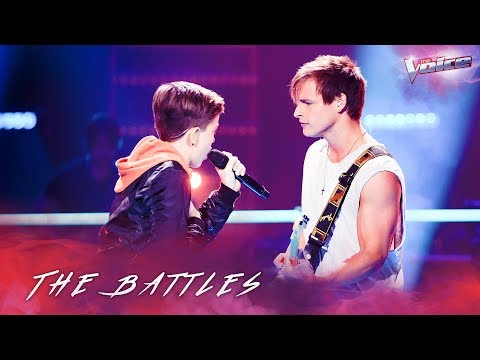 Trent Bell v Josh Richards 'There's Nothing Holding Me Back' | The Voice Australia 2018