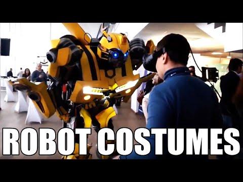 Как использовать костюмы трансформеров для аниматоров