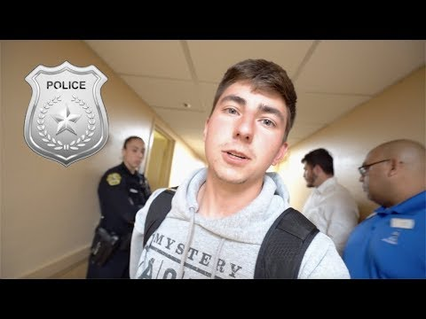 ESCORTED OUT OF A HOTEL (NOT CLICKBAIT)