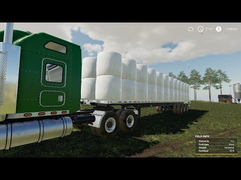 Farm Sim Saturday...Silage bale wrapping And nice get a way  MOTW (mod of the week)