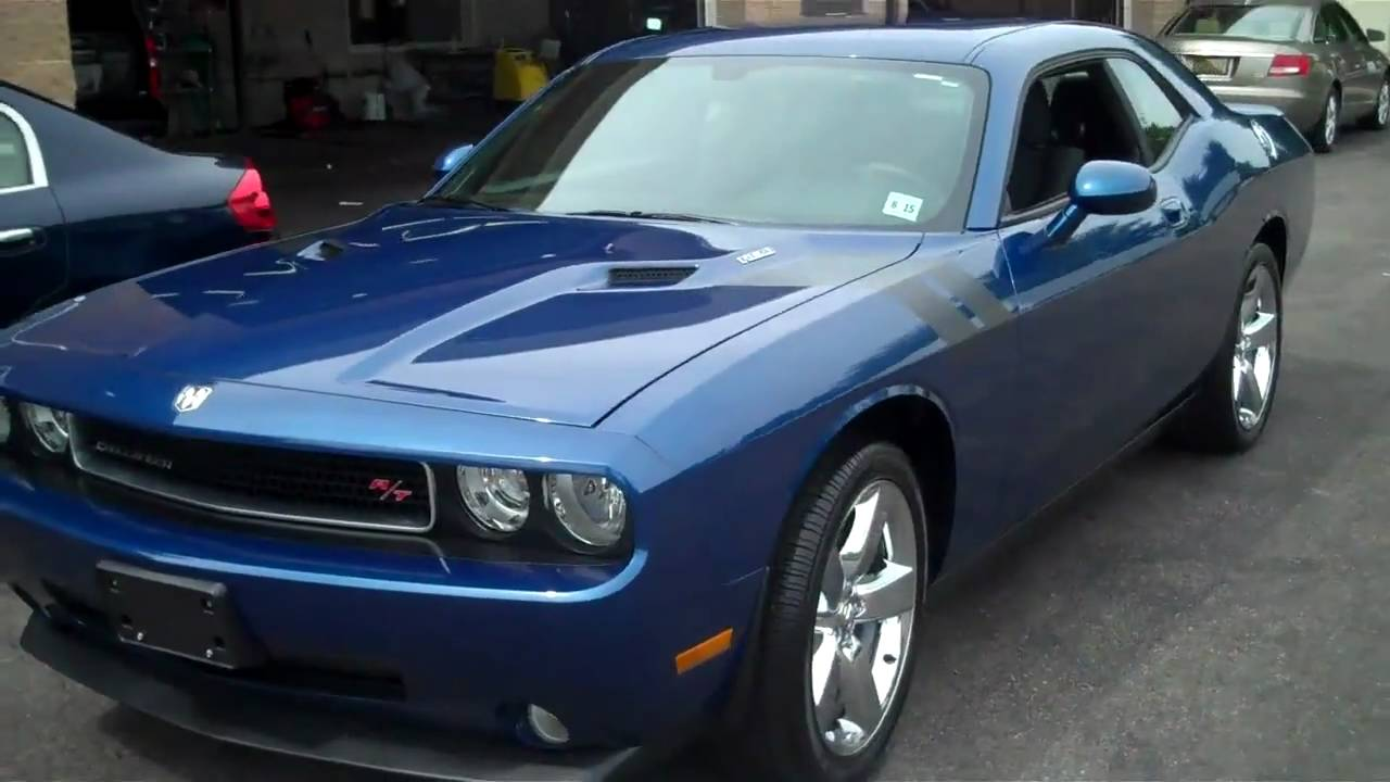 Dodge Challenger Deep Water Blue T Amp B Car Wash Parsippany