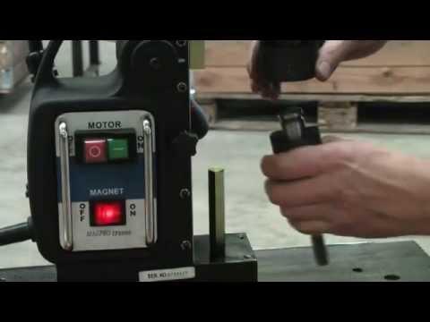 Бормашина за ядково пробиване с магнитна стойка JEPSON MAGPRO TP 2000 #WGSB4TbNync