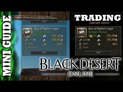Black Desert Online - Mini Guide - Trading