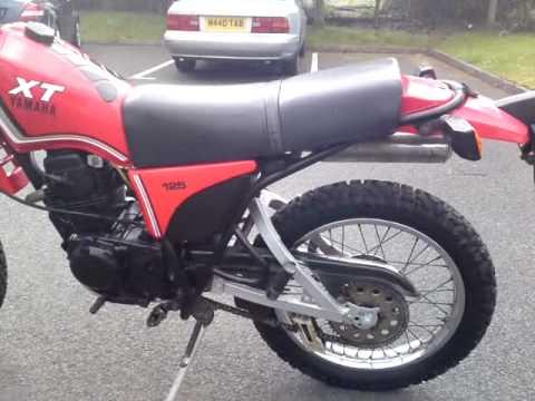 1986 yamaha xt125 xt 125 motorbike 1 owner 7kmiles t&t ... yamaha ybr 125 fuse box