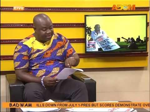 Electricity Billing - Badwam on Adom TV (22-6-16)