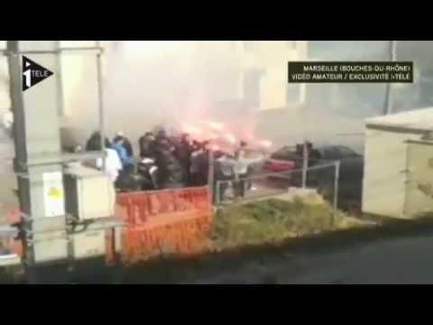 L'attaque filmée du TGV à Marseille.