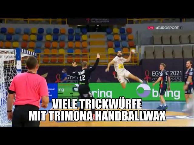 Trimona bei der Handball WM - Norwegen Spanien