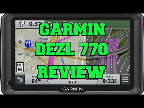 Garmin Dezl 770 Review