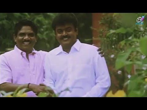 Vijayakanth Megahit Political Movie - Tamizh Selvan - Full Movie | Manivannan | Vadivelu | Roja
