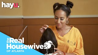 Tanya Exposes Kenya's Wig | Season 12 | Real Housewives of Atlanta