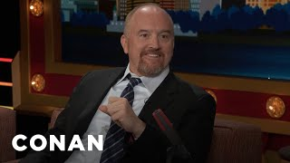 Louis C.K. Wanted To Dance Just Like N'SYNC  - CONAN on TBS