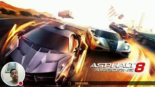 Asphalt 8 ao vivo no Moto G5