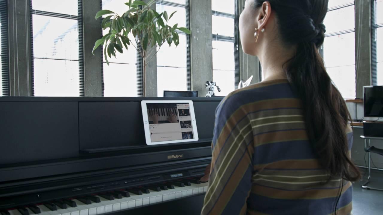 Купить цифровое пианино roland fp-90 wh в магазине