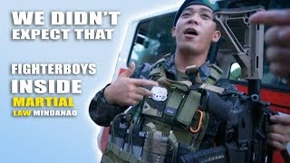 Fighterboys Stopped by Filipino ARMY MINDANAO (This Might Surprise You)