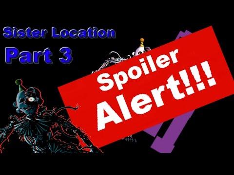 MEGA PLOT!!!:Sister Location Part 3