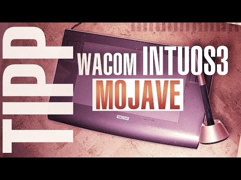Wacom Intuos 3 unter macOS Mojave zum laufen bringen