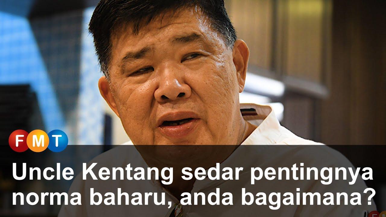 Uncle Kentang sedar pentingnya norma baharu, anda bagaimana?