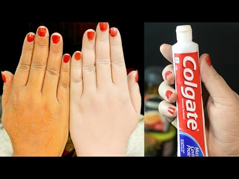 Skin Whitening  Colgate Toothpaste At Home Remedies | Lifestyle Tips