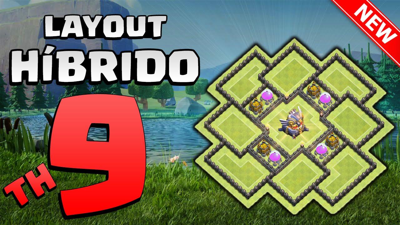 o melhor layout  h u00edbrido  farm cv9   replays