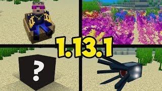 Обзор Minecraft 1.13.1 (Обзор Майнкрафт 1.13.1) | ВСЕ СЕКРЕТЫ...