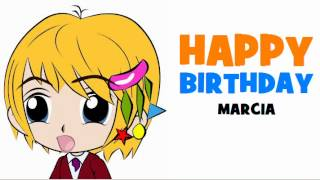 HAPPY BIRTHDAY MARCIA!