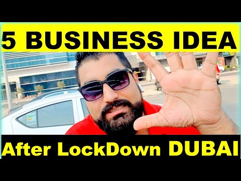 Dubai  5  High Income Business IDEA  || Opportunity After Lockdown & Corona Virus In UAE