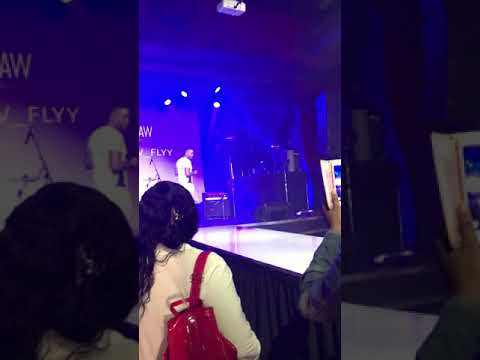 "Canadian artist Blow_Flyy Rawartists ""ARISE"" Toronto 2019 Performance, ModClub{very short clip#4}"