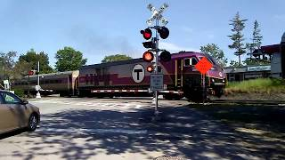 MBTA Commuter Rail Crossing Commonwealth Ave, Concord, MA