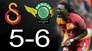 GOMİS YİNE PENALTI KAÇIRDI, ÇILDIRDI! Galatasaray Akhisar Maç Özeti Süper Kupa Penaltılar 05/08/2018