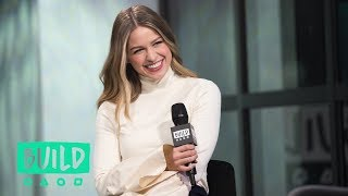 melissa benoist discusses her experience at the womens march