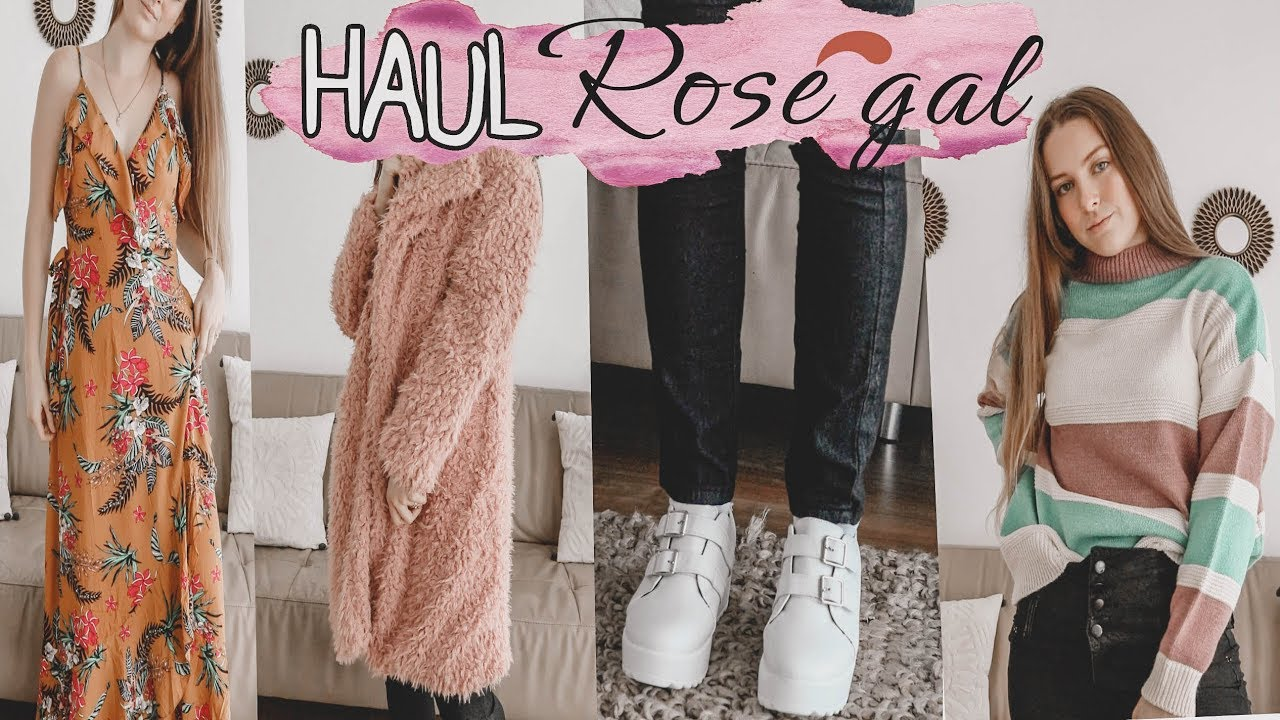 ROSEGAL HAUL!! - YouTube
