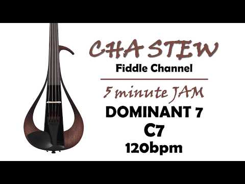 improvising over dominant 7 chords: key f major - c7 - 120bpm