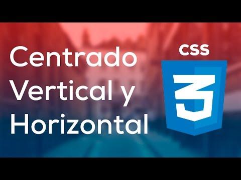 Tutorial Como Centrar Vertical y Horizontalmente con CSS thumbnail