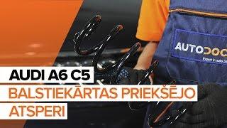 Kā nomainīt Piekare AUDI A6 Avant (4B5, C5) - tiešsaistes bezmaksas video