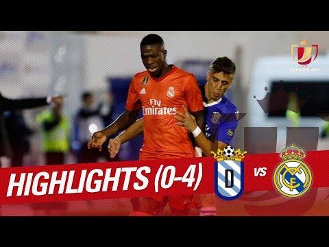 Resumen de UD Melilla vs Real Madrid (0-4)