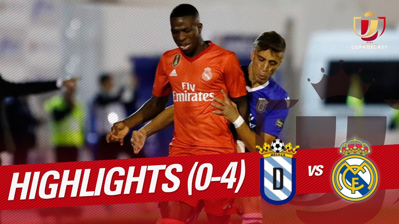 Highlights Ud Melilla Vs Real Madrid