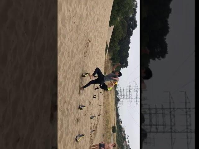 Low Hurdle Single Leg Hop to Single Leg Balance