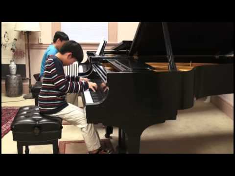 Grieg Piano Concerto by Andrew (13) - Accompanied by George Li