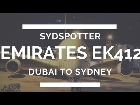 *FULL TRIP REPORT* EMIRATES A380 ECONOMY DUBAI-SYDNEY