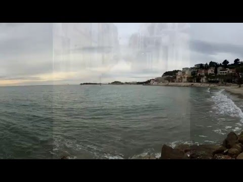 Bandol France Tour Winter (Jan 2016) Mediterranean Sea