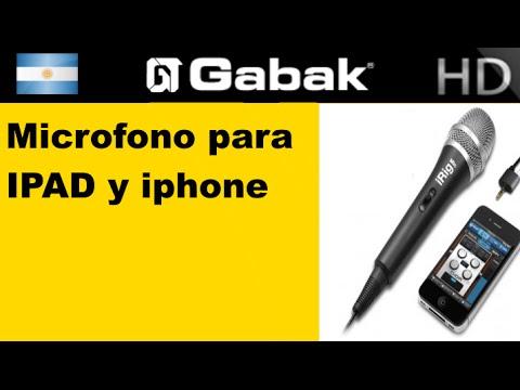 Micr Fono Para Ipad Y Iphone Gabakshow Youtube