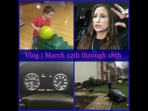 Vlog | Bowling | Marty is away | Gardening | March 12th through 18th | LisaSz09