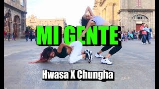 [KPOP IN PUBLIC] 화사 X 청하 'MI GENTE' [Dance Cover by EYE CANDY from MEXICO] ONE TAKE