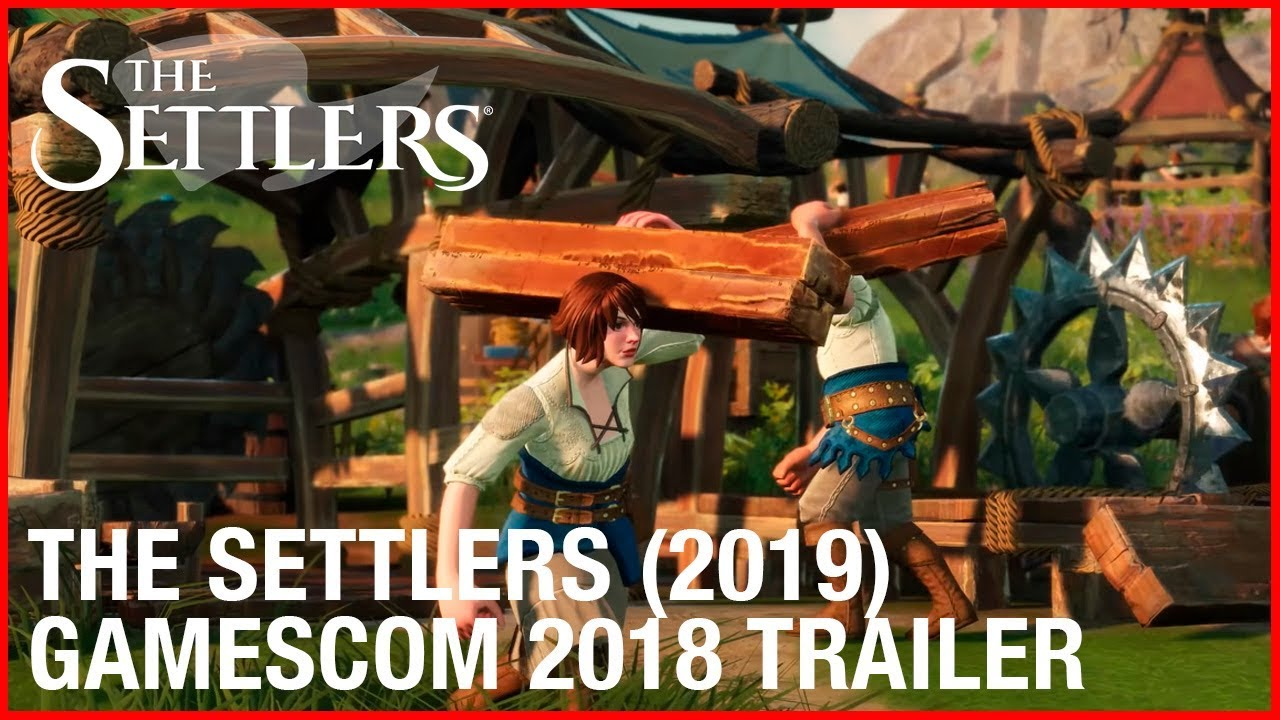 The Settlers 2019 Gamescom 2018 Trailer Ubisoft Na