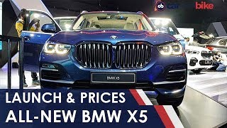 All-New BMW X5: Launch & Prices | NDTV carandbike
